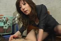 フリーダム女教師 童貞の生徒への体罰 高坂保奈美